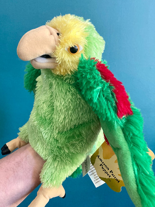 Amazon Parrot Hand Puppet (Folkmanis)