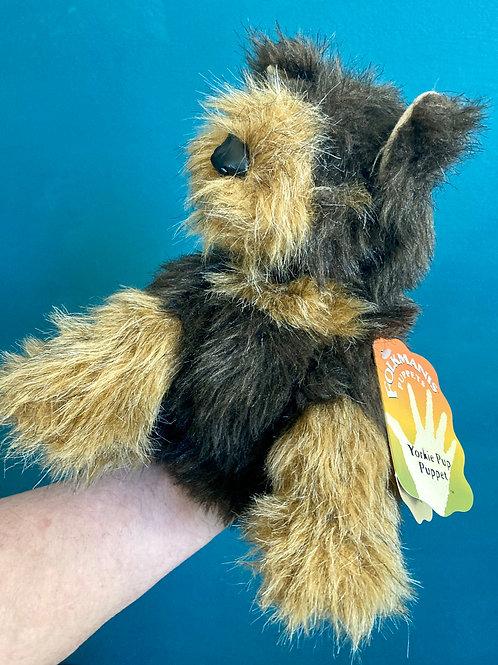 Yorkie Pup Hand Puppet (Folkmanis)
