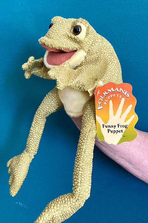 Frog Hand Puppet (Folkmanis)