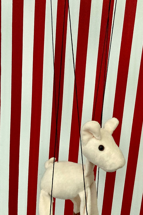 Lamb - Marionette Puppet (small) by Sonny Toys
