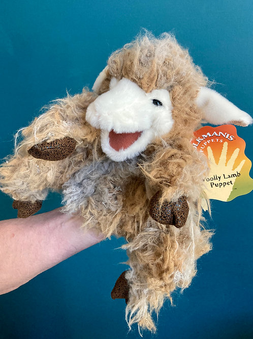 Wooly Lamb Hand Puppet (Folkmanis)