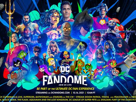 A programação DC FanDome 2021 contará com Batman, Black Adam, The Flash e muito mais