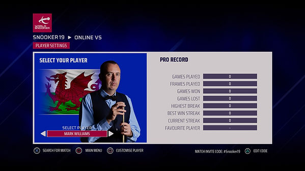 Snooker 19 - FAQ Multiplayer online frie