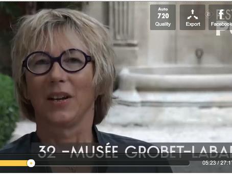 Interview : Clara Feder au Musée Grobet-Labadié (French)