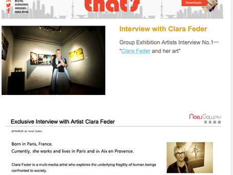 Group exhibition in Shanghai featuring Clara Feder