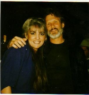 Me and ... Kris Kristofferson.