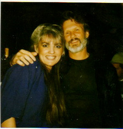 Me and ... Kris Kristofferson.