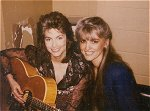 Sharing a tune with Emmylou Harris