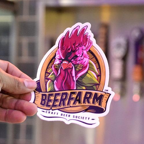 BeerFarm Large Sticker