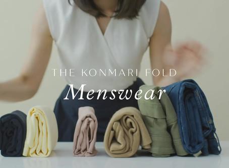 The KonMari Fold | Menswear