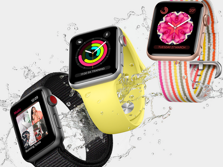 Apple Watch Series 3 with cellular connectivity