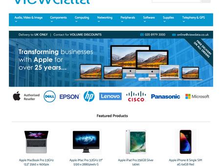 Viewdata launch online IT store
