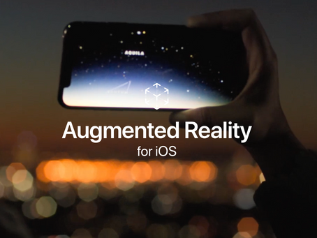 Apple tools that make Augmented Reality... a reality