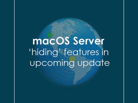 macOS Server 'hiding' features in upcoming update