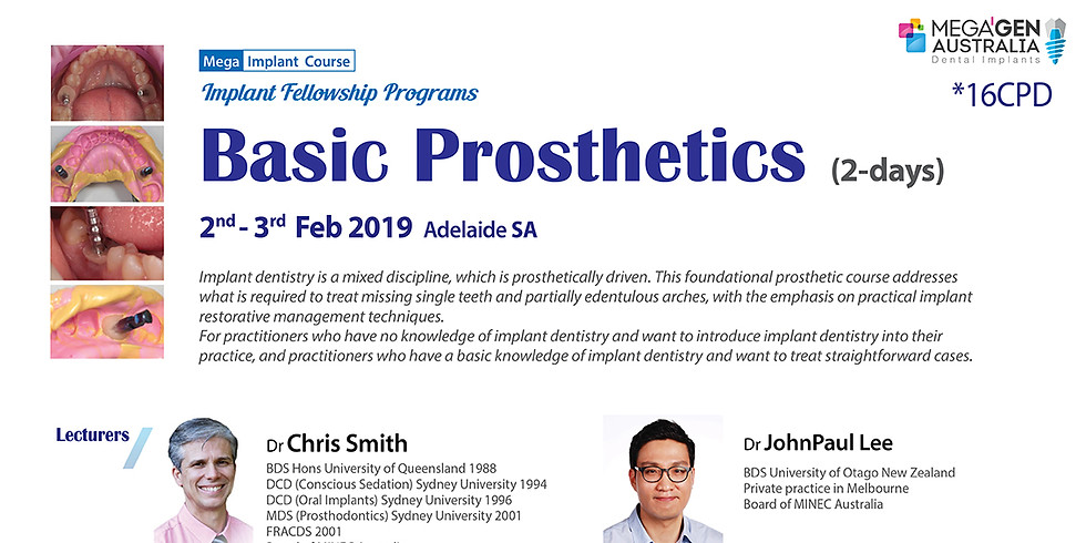 Basic Prosthetics course /Fellowship Program/