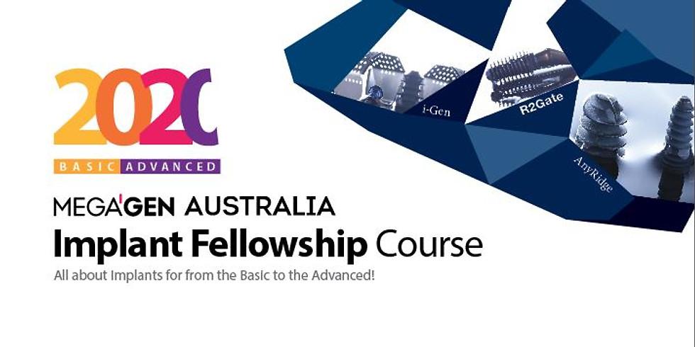 2020 MegaGen Implant Fellowship Course
