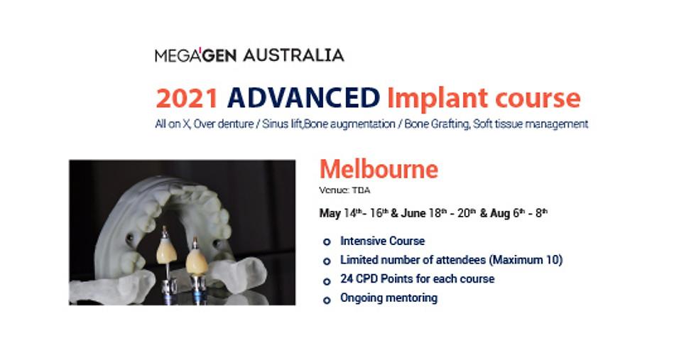 2021 Advanced Implant in Melbourne - Sinus lift/ Bone Argumentation