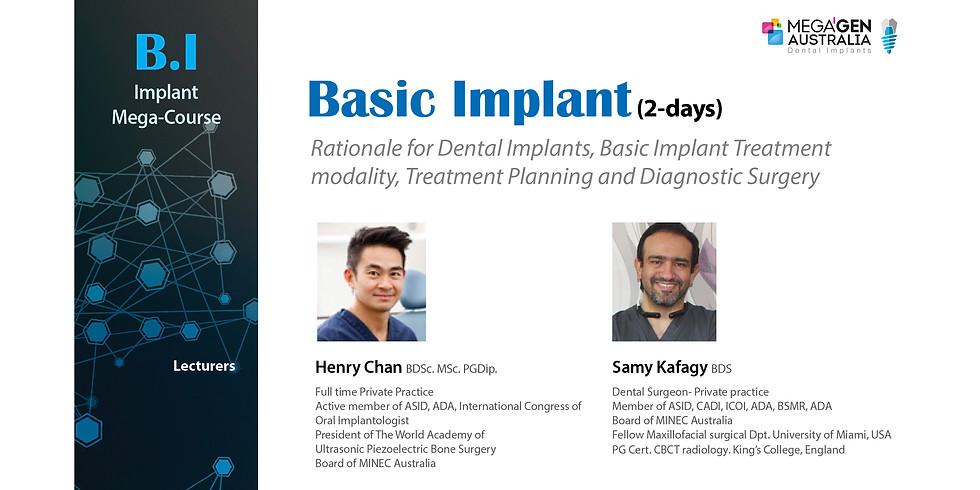 [Mega-course] The Basic Implant (2-days)  (1)
