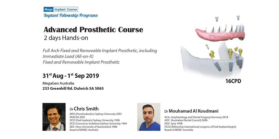 Advanced Prosthetic course /Fellowship Program/