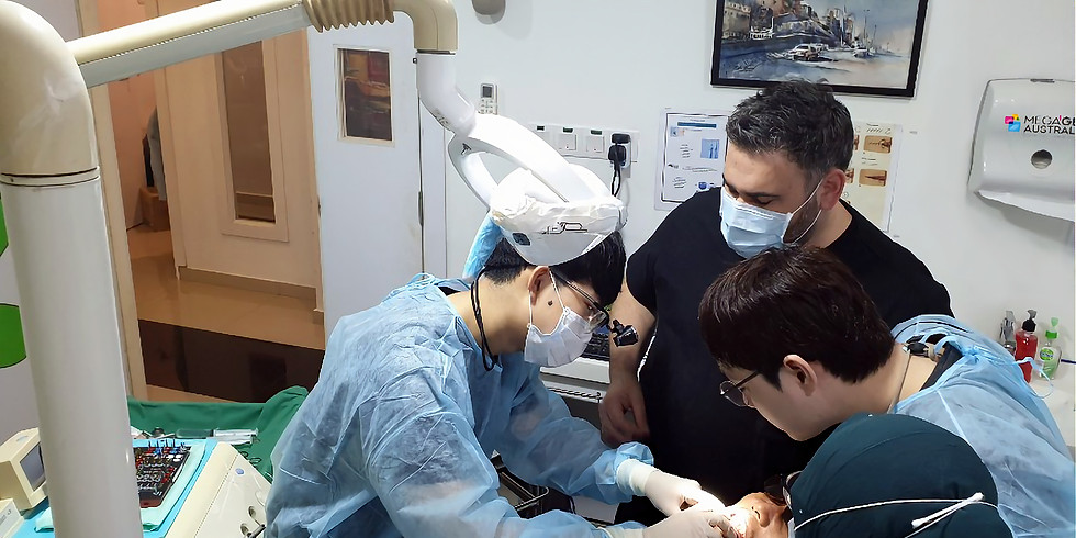 Implant Training Course in Malaysia LIVE PATIENT