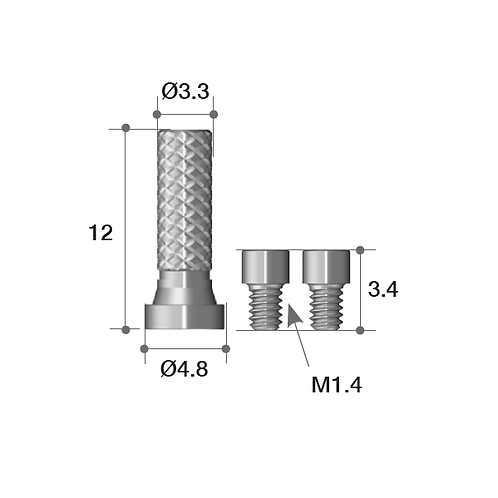 Multi-unit Temporary Cylinder