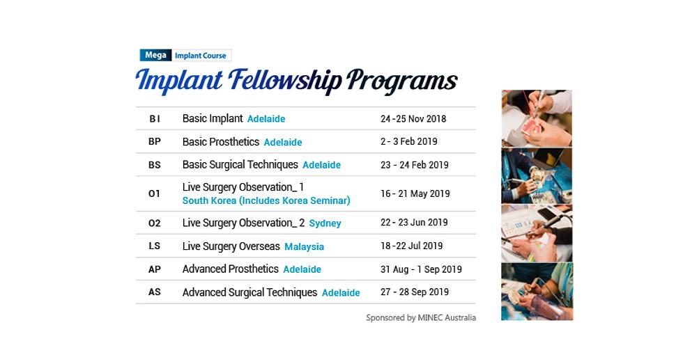 [Mega-Implant] Implant Fellowship Program