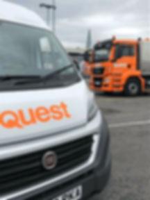Commercial & Domestic. Quest Waste Management. Leeds.