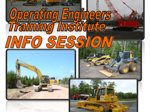 Operating Engineers Training Institute Info Session at Opportunity Place!