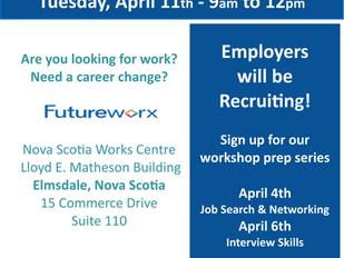 Job Fair - Futureworx, Elmsdale, NS