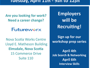 Job Fair - Futureworx, Elmsdale, NS