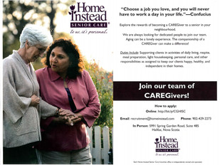 Home Instead Senior Care - Caregiver