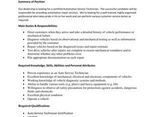 Amherst Toyota - Automotive Service Technician