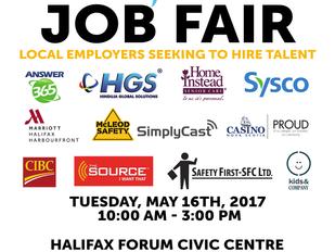 Nova Scotia Works Spring Into Work Job Fair 2017