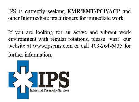 EMR/EMT/PCP/ACP Positions