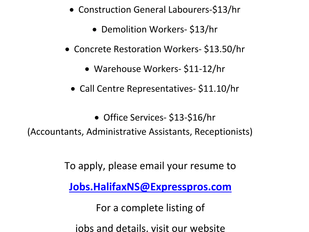 Express Employment Professionals - Various Positions