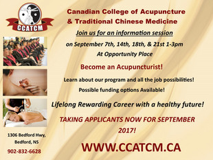 Canadian College of Acupuncture & Traditional Chinese Medicine - Info Session