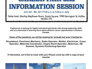 Puglisevich Career Fair and Info Session
