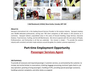 Swissport - Passenger Services Agent