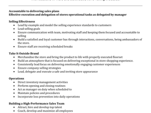 Take It Outside - Assistant Manager