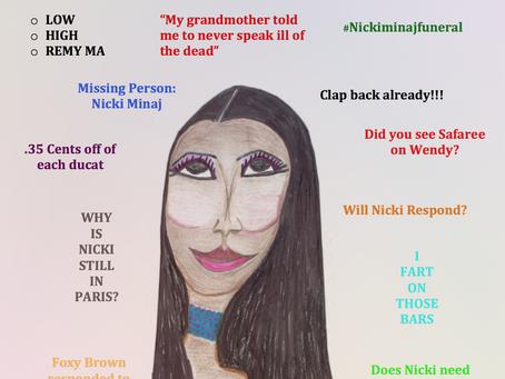 Nicki Minaj's Waiting Game