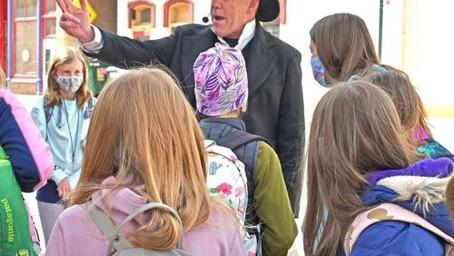 Touring with Salida Montessori Charter School