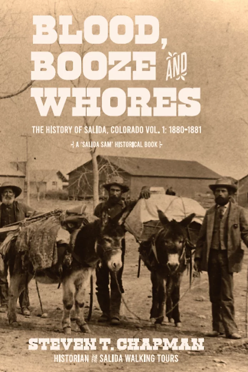 Vol 1. Blood, Booze, & Whores (price includes $20.95 for book & tax & shipping)