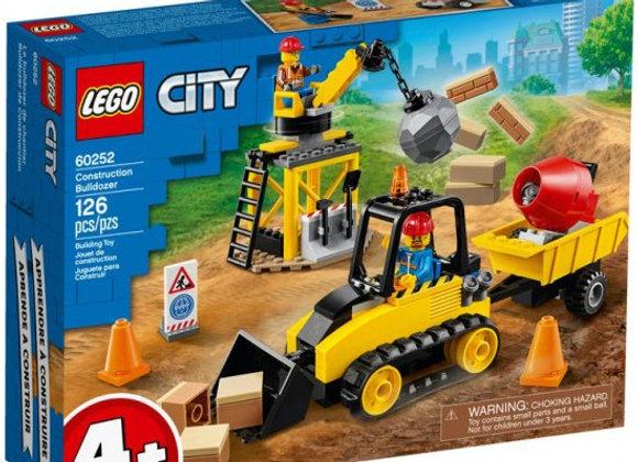 בולדוזר בנייה 60252 LEGO City