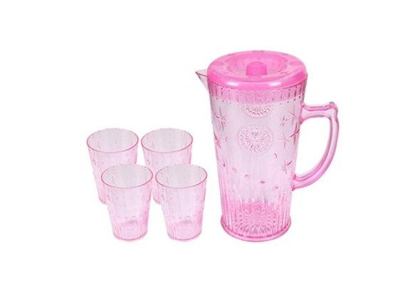 2 סטים קנקן + 4 כוסות שתייה מבית המותג MAMA
