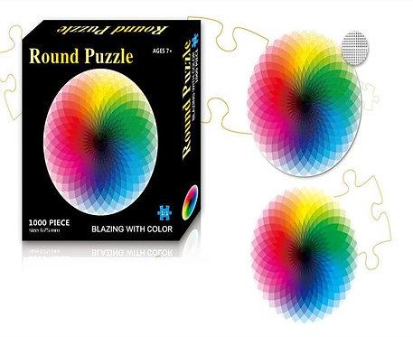 פאזל 1000 חלקים - מעגל צבעים