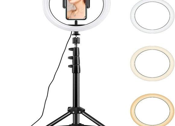 רינג לייט - טבעת תאורה קוטר 26 ס״מ