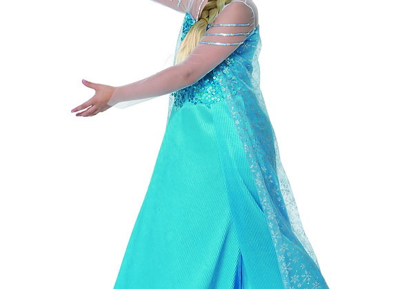 תחפושת נסיכת הקרח מהודרת לילדה