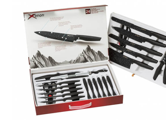 סט סכינים ענק24 חלקים XENON