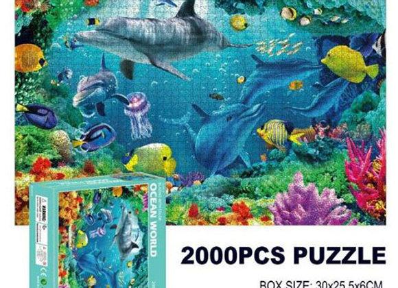 פאזל 2000 חלקים - עולם המים