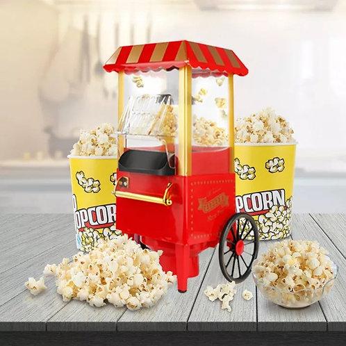 מכונת פופקורן חשמלית בעיצוב מיוחד ללא שמן!